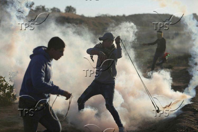 Demonstration on Israel – Gaza border