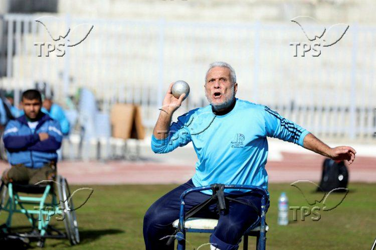 Sport competition for athletes with disabilities in Gaza City