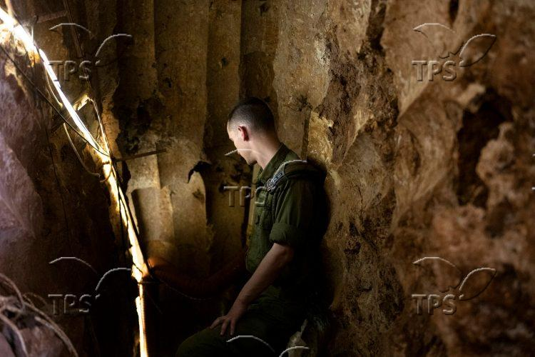 Hezbollah tunnel in northern Israel