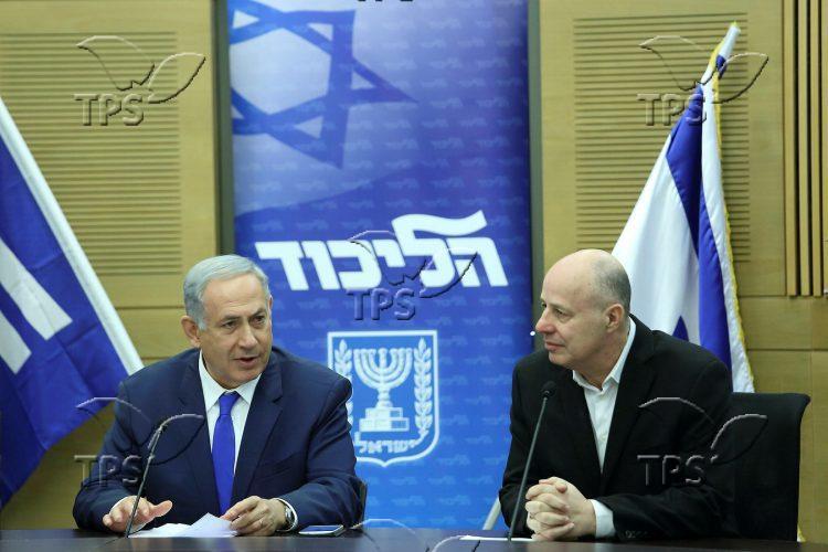 Prime Minister Binyamin Netanyahu and Tzachi Hanegb