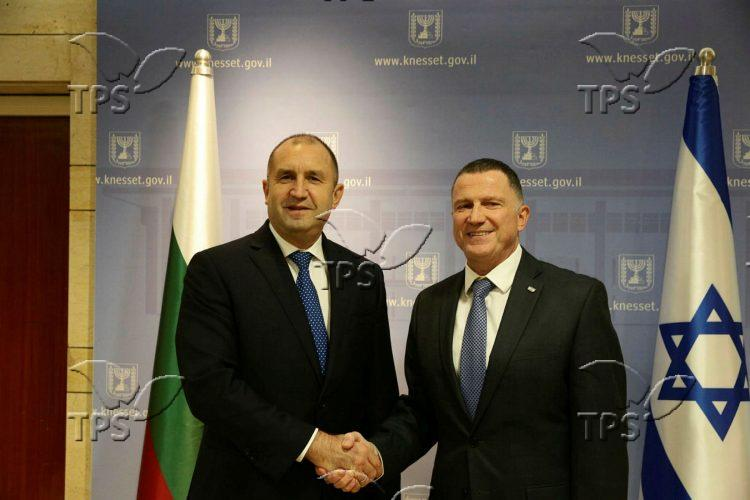 Rumen Radev in Israel for Holocaust Remembrance day