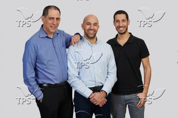 TriEye founders – from left to right – Prof. Uriel Levy -CTO, Avi Bakal -CEO and Omer Kapach – VP Research and Development