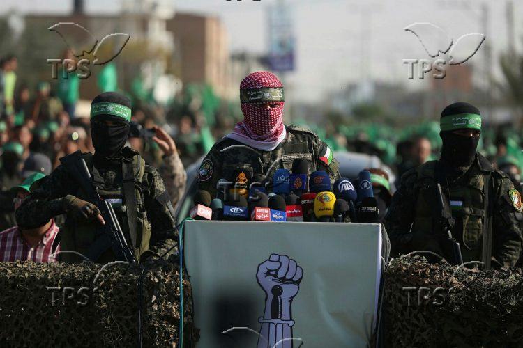 Anti-Israel show in Gaza Strip