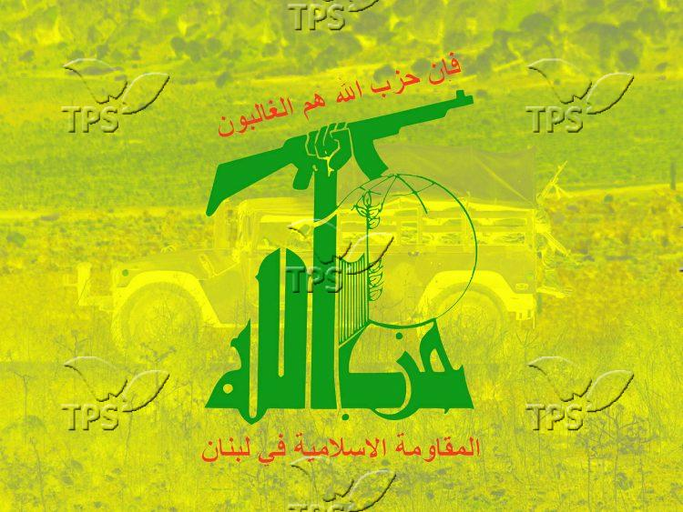 Infographic of Hezbollah logo