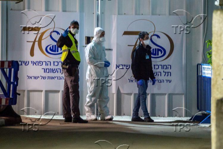 Coronavirus quarantine at Sheba Medical Center