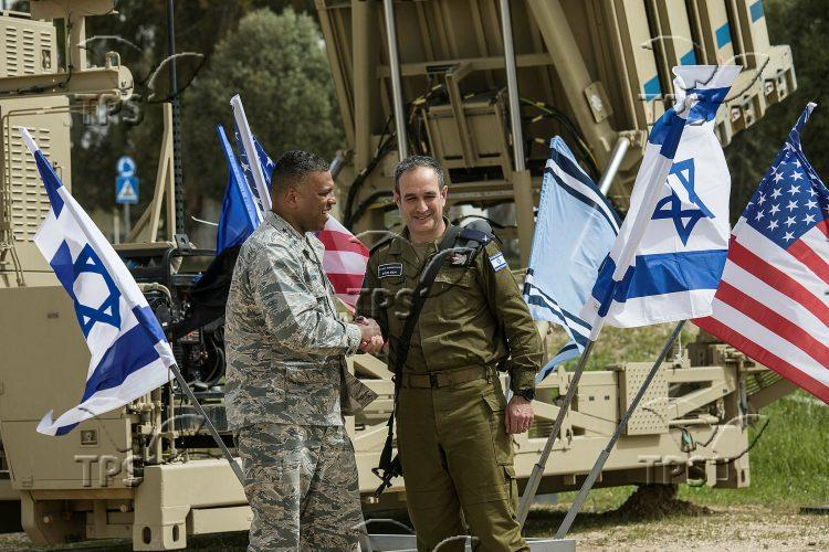 Joint Military Exercise of IDF and American Soldiers