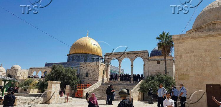 Temple Mount on Tish'a Be'av