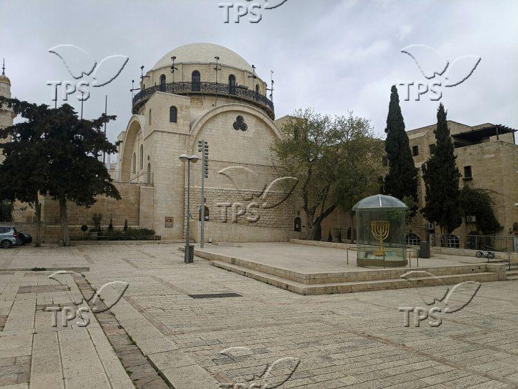 The Old City of Jerusalem amid Coronavirus lockdown