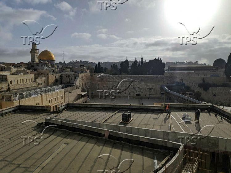 The Old City of Jerusalem amid Coronavirus lockdown
