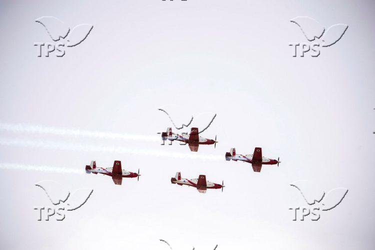 Israeli Air Force aerial demonstration