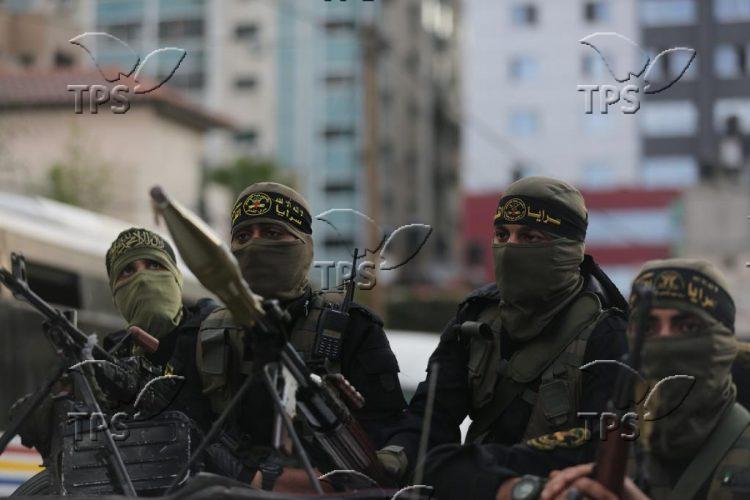 Palestinian Islamic Jihad rally in Gaza City