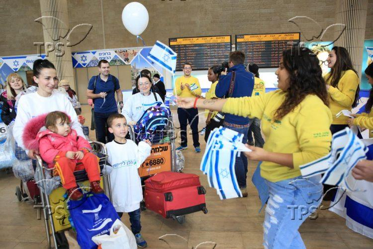 New immigrants to Israel