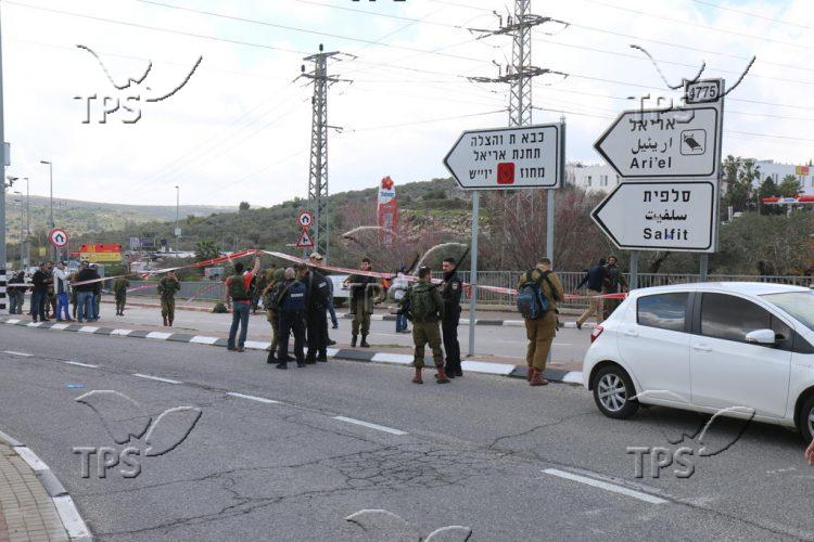 Stabbing and shooting attack in Ariel
