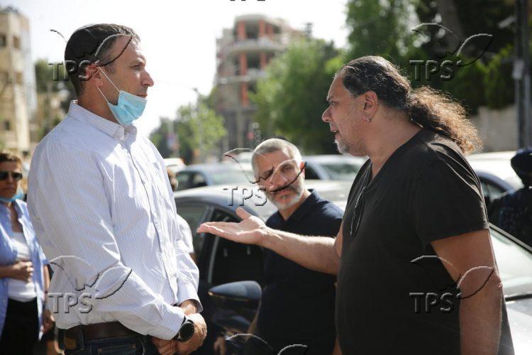 Artists' demonstration in Jerusalem