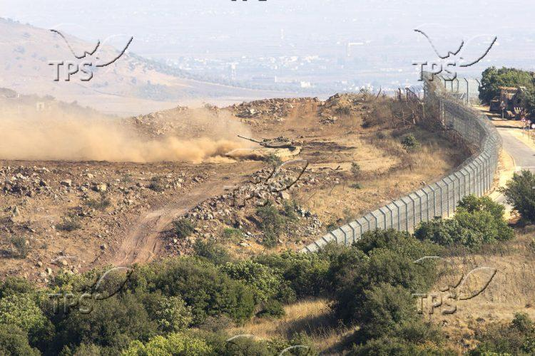 Israel-Syria borde