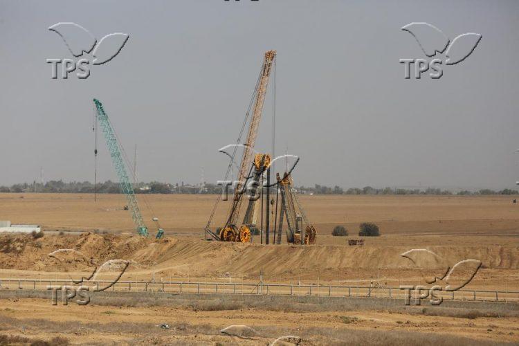 IDF engineering work on Israel-Gaza Strip border