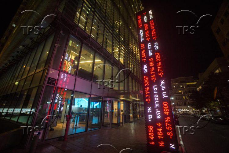 Coronavirus anxiety at Tel Aviv Stock Exchange
