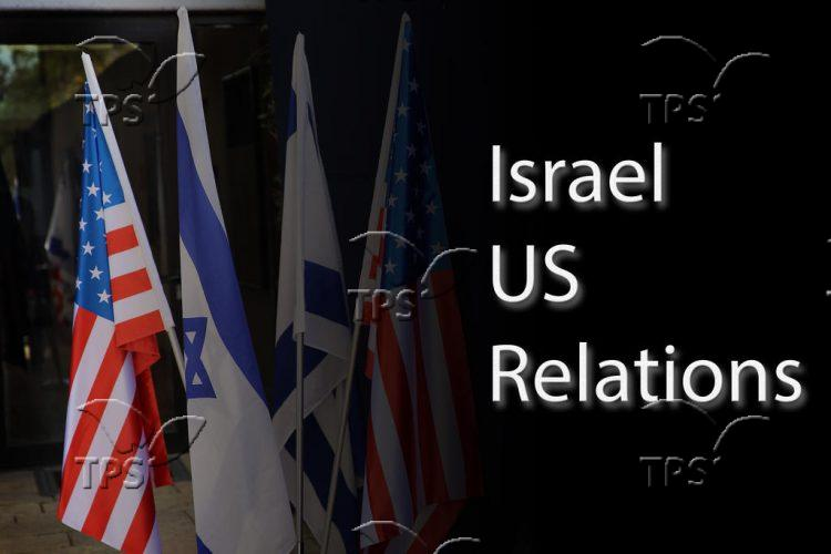 Infographic of Israel –  US Relations