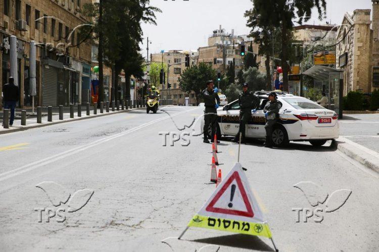 Coronavirus lockdown in Jerusalem