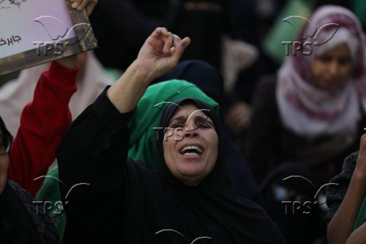 Hamas rally in Gaza Strip