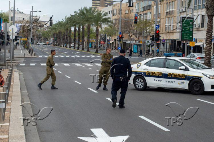 Coronavirus lockdown in Tel Aviv