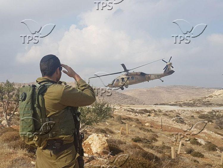 IDF exercise in Qiryat Arba