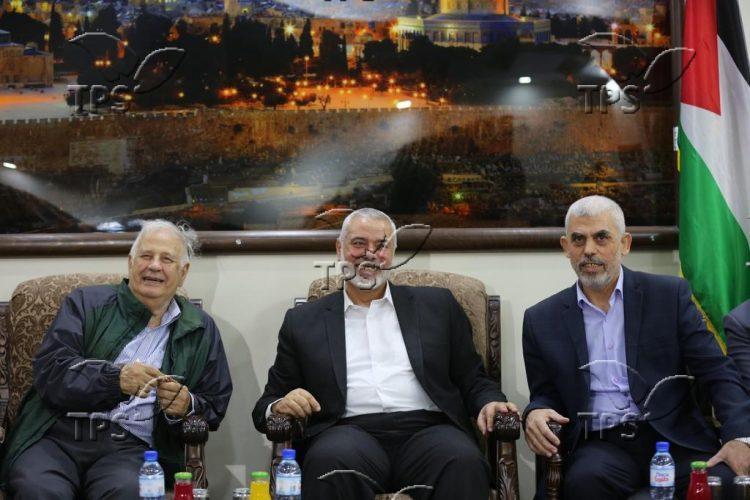 Leaders of Hamas meet in Gaza Strip