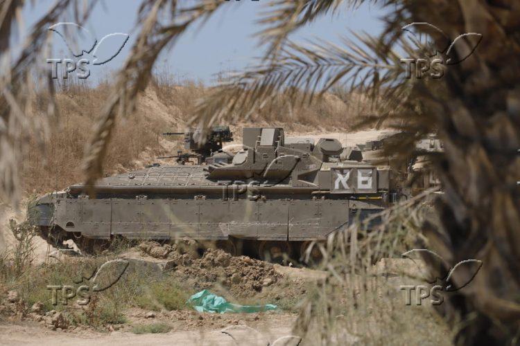 IDF presence in Gaza Envelop