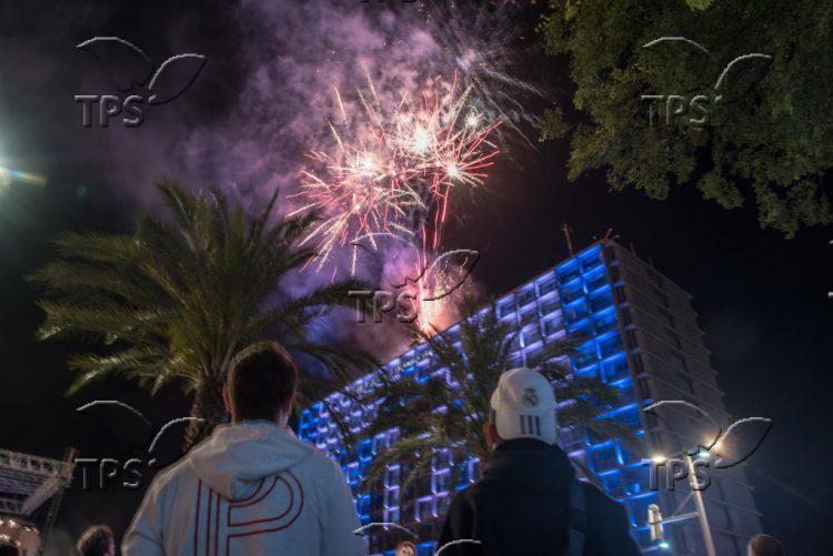 Independence Day celebrations in Tel Aviv
