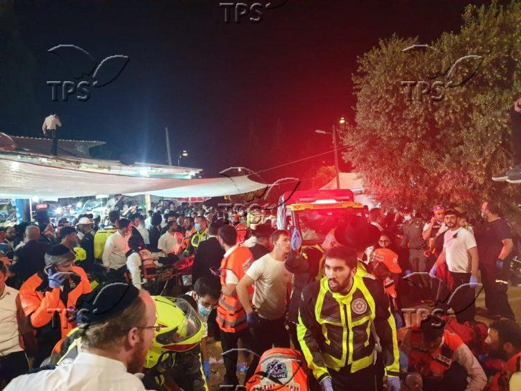 Disaster at Mount Meron on Lag B'Omer eve