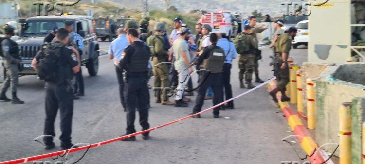 Shooting attack at Tapuah Junction in Samaria