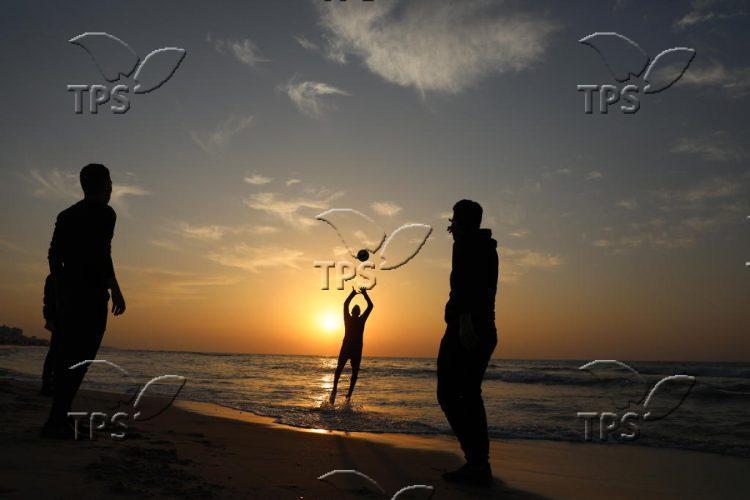 Last day of 2020 in Gaza City