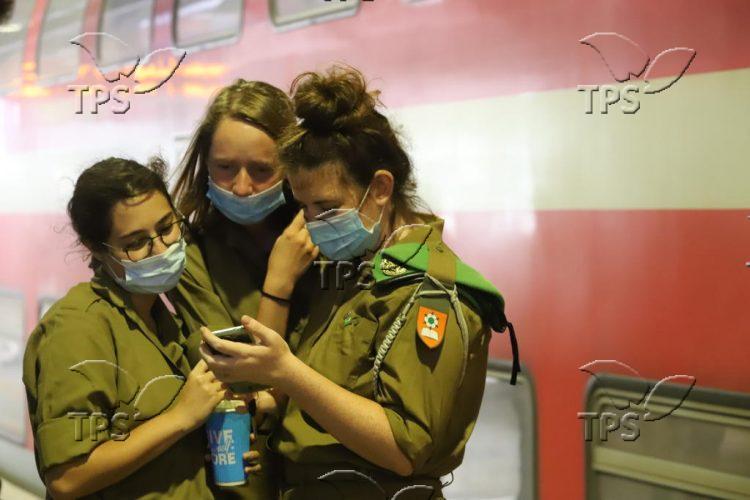 Train in Israel in the age of Coronavirus