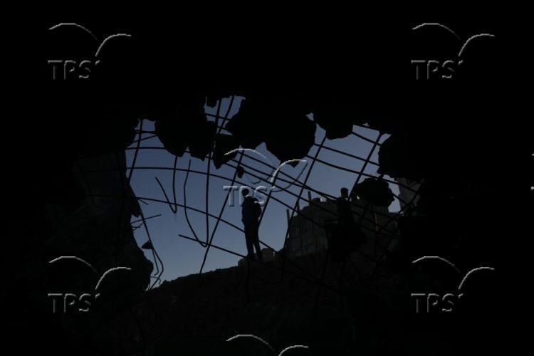 Al-Shati in Gaza Strip after IDF airstrikes
