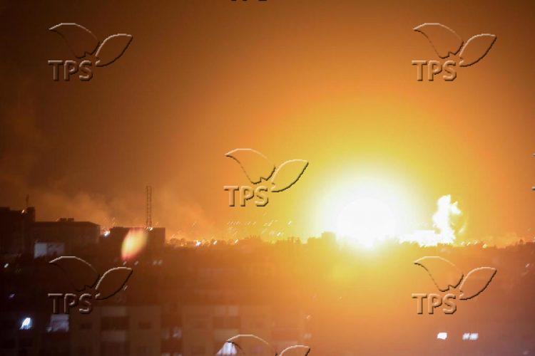 IDF retaliation in Gaza Strip